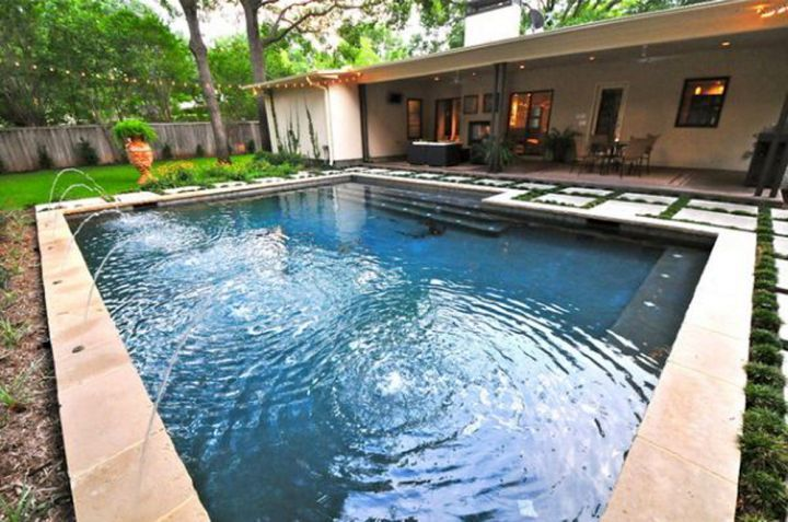 Simple Pool Designs old fashioned way to get the best pool house designs with simple style Simple Backyard Pool Designs