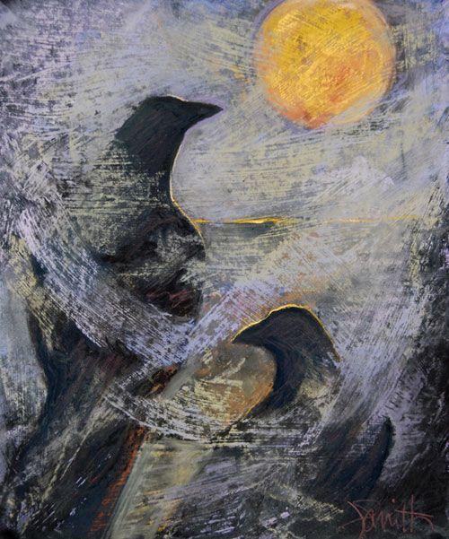"""Bad Moon Risin'"" by Judith Gebhard Smith"