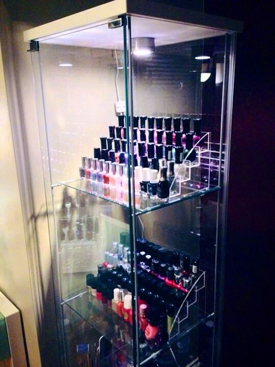Ikea Detolf My New Beautiful Nail Polish Storage And