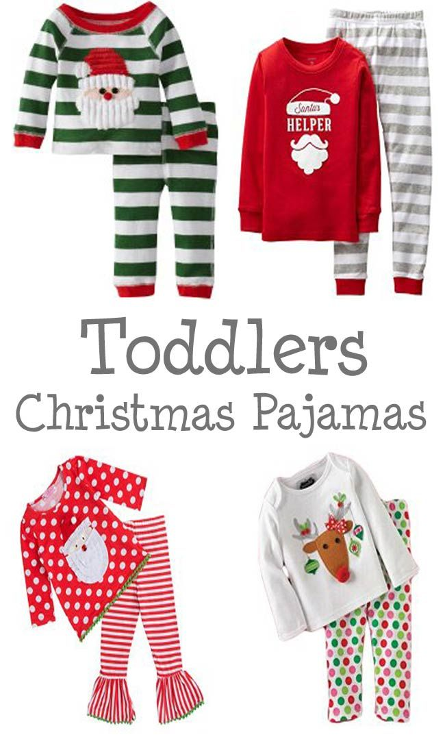 christmas pajamas for toddlers - Christmas Pjs Toddler
