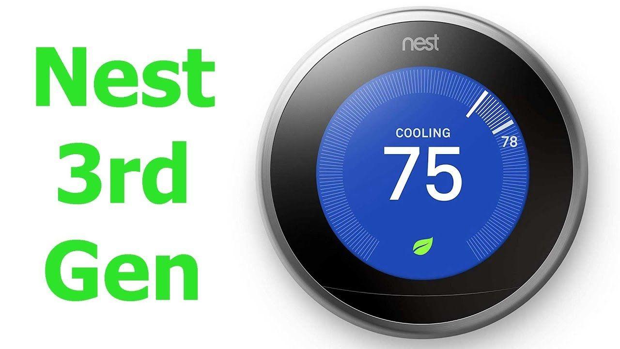 Nest E Nest 3rd Gen Testing Out Both Nest Nest Learning Thermostat Nest Learning Alexa Device