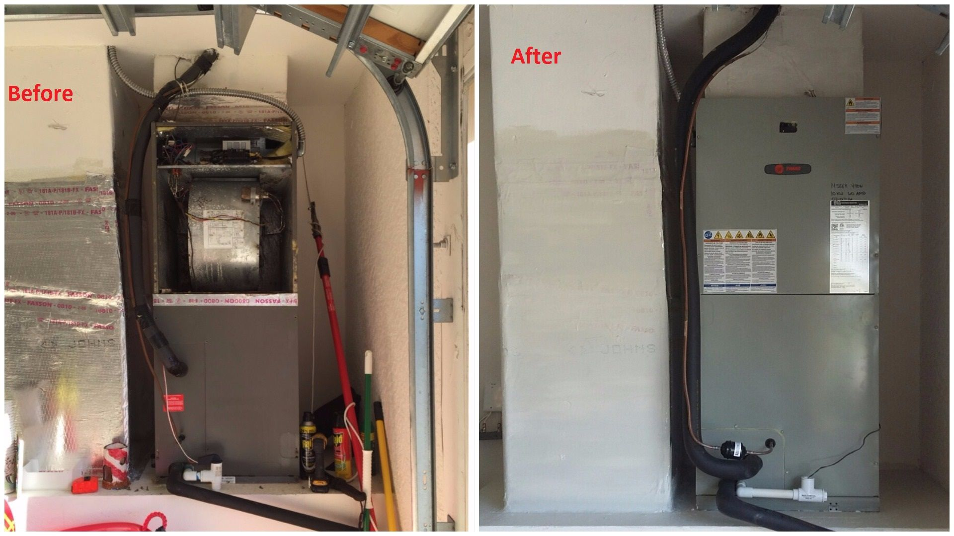 Pin by Certified Heating and Cooling on Before and After