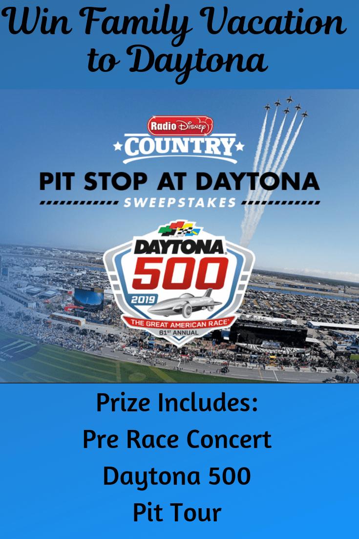 Win Radio Disney Vacation to Daytona 500 | Current Disney