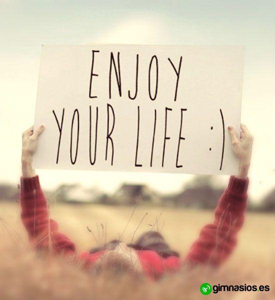 Disfruta #enjoy #life #disfruta #animos #tupuedes #enjoyyourlife #motivacion