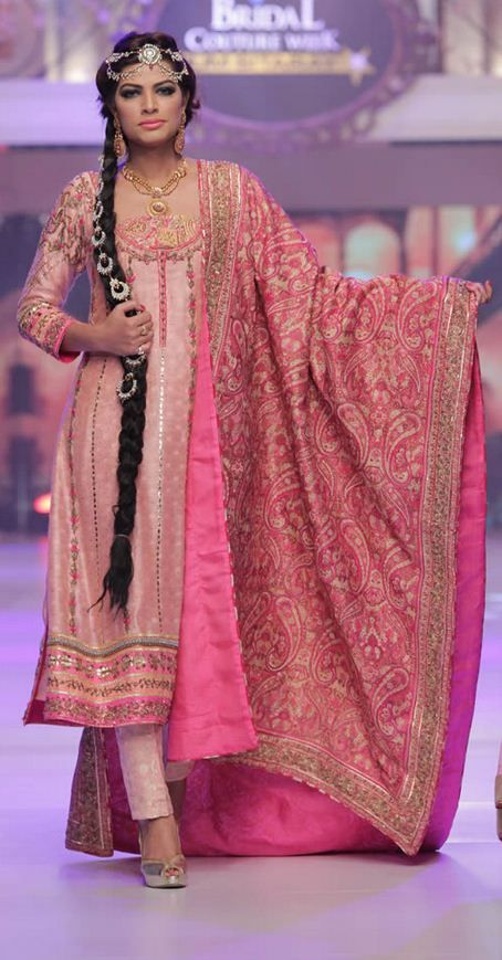 Ayesha Ibrahim Collection at Telenor Bridal Couture Week ...