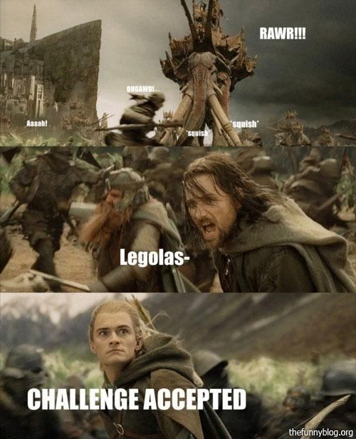 I Nearly Died Laughing His Face Makes It That Much Better Lotr Funny Lord Of The Rings The Hobbit