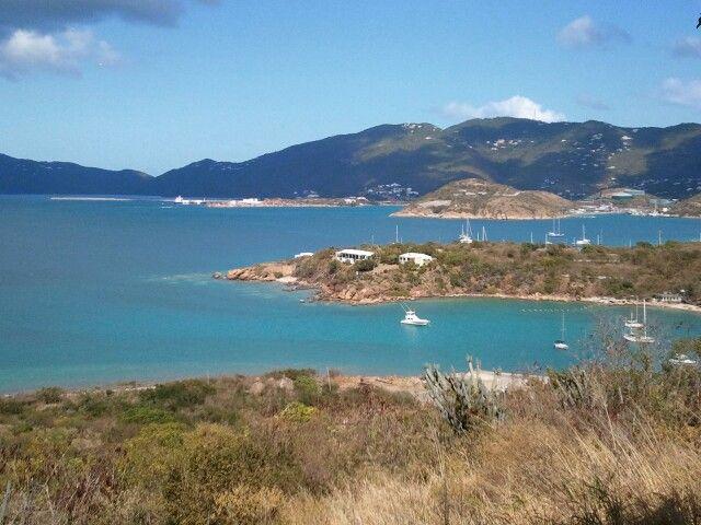 At Water Island looking at US Virgin Islands