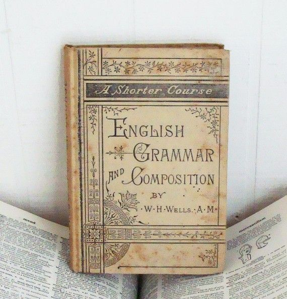 English Grammar and Composition vintage book <3