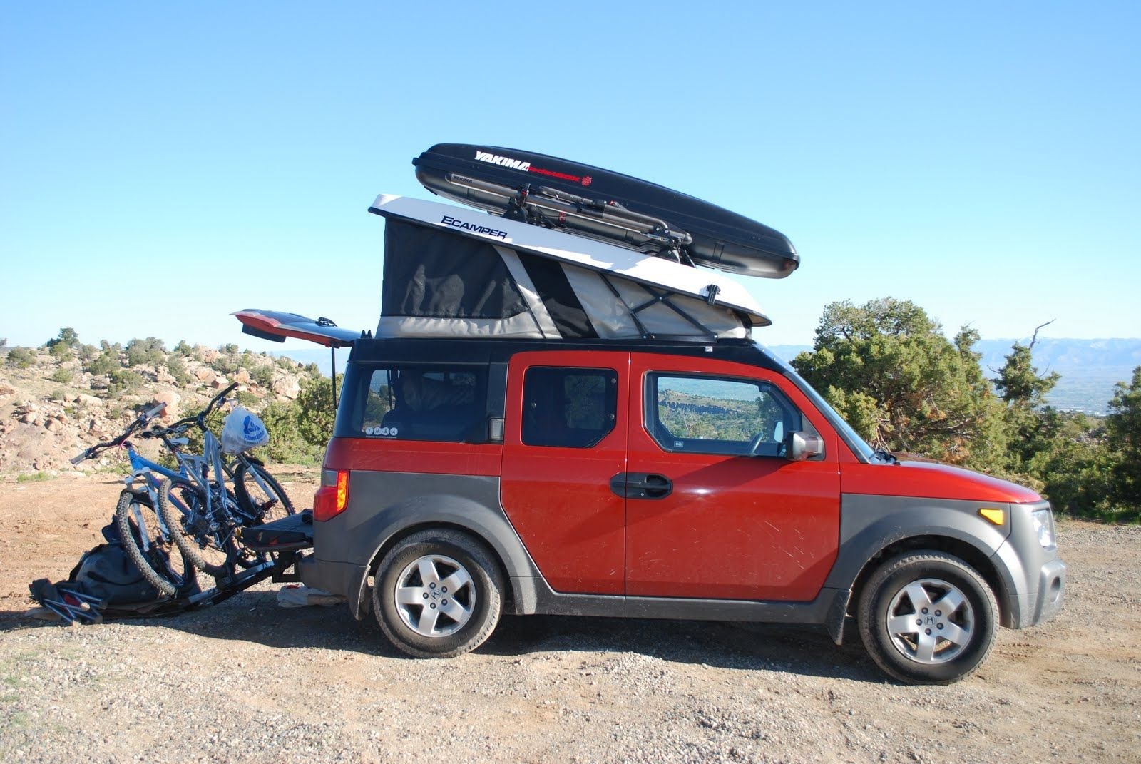 Ecamper Pictures - Page 8 - Honda Element Owners Club Forum Honda Element  Camper, Cars