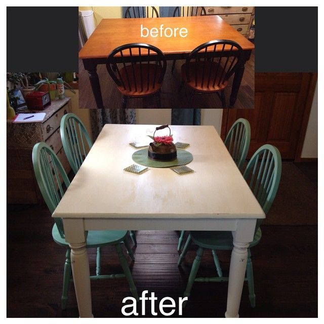 Cheap Table From Fred Meyer Turned In Country Chic Using Martha Stewart  Chalk Paint In Linen