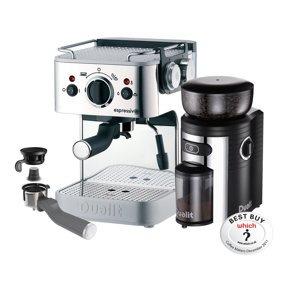 costco uk dualit 3in1 espressivo coffee machine. Black Bedroom Furniture Sets. Home Design Ideas