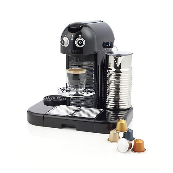 Nespresso Gran Maestria Espresso Maker Espresso Crate And Barrel Crates