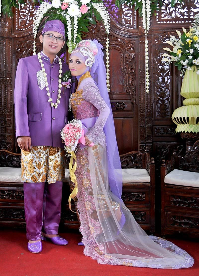 Model Baju Pengantin Muslim Warna Soft Model Busana Model