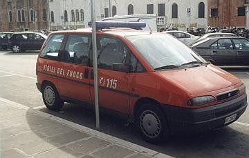 Vigili del fuoco, Venezia