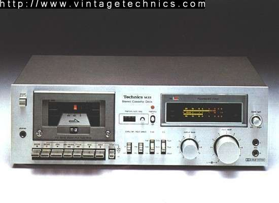 technics rs m33 tape deck and cd player audio system. Black Bedroom Furniture Sets. Home Design Ideas