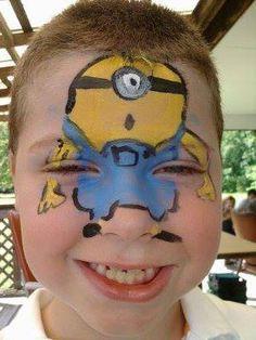 minions face paint -