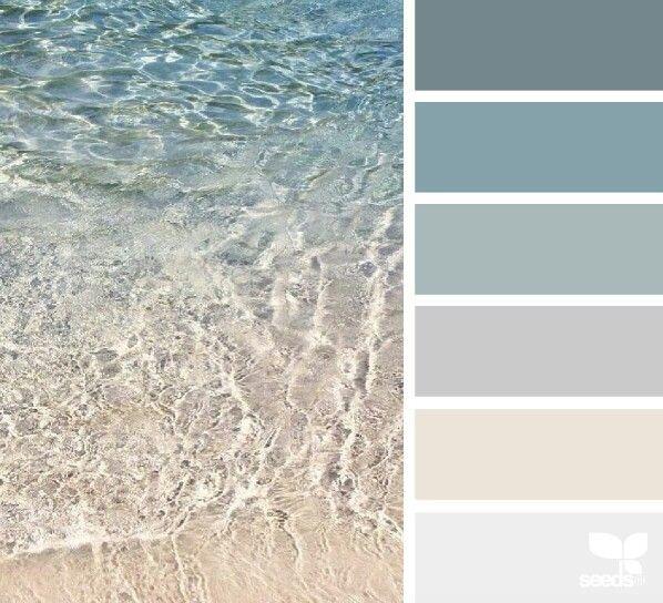 Beach Color Inspiration.