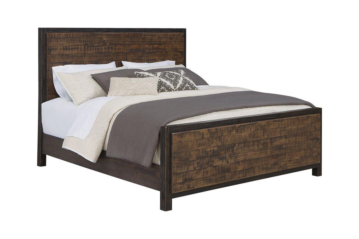 Wesling King Panel Bed Ashley Furniture Homestore Bedroom In