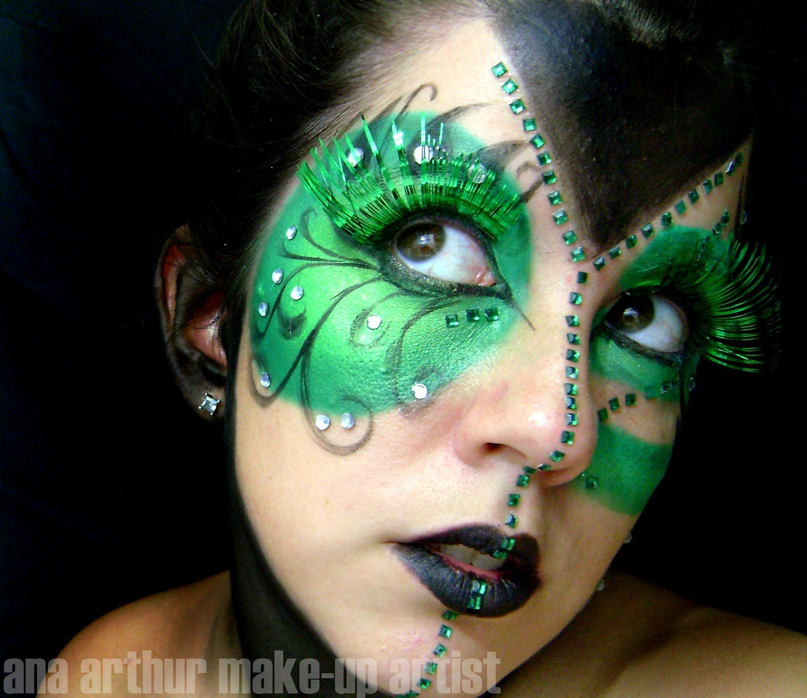 ana arthur makeup artist November 2009 Fantasy makeup