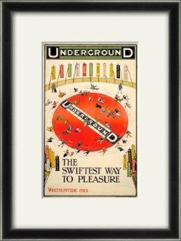 The swiftest way to pleasure; Whitsun joy wheel - Charles Sharland (1913)