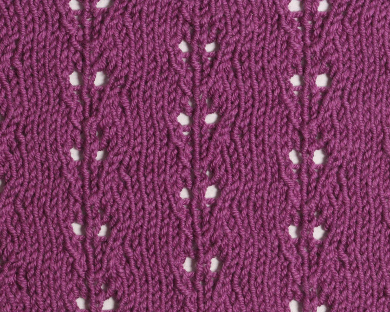Climbing Leaf Pattern   Lacy Stitches   Pinterest   Knitting ...