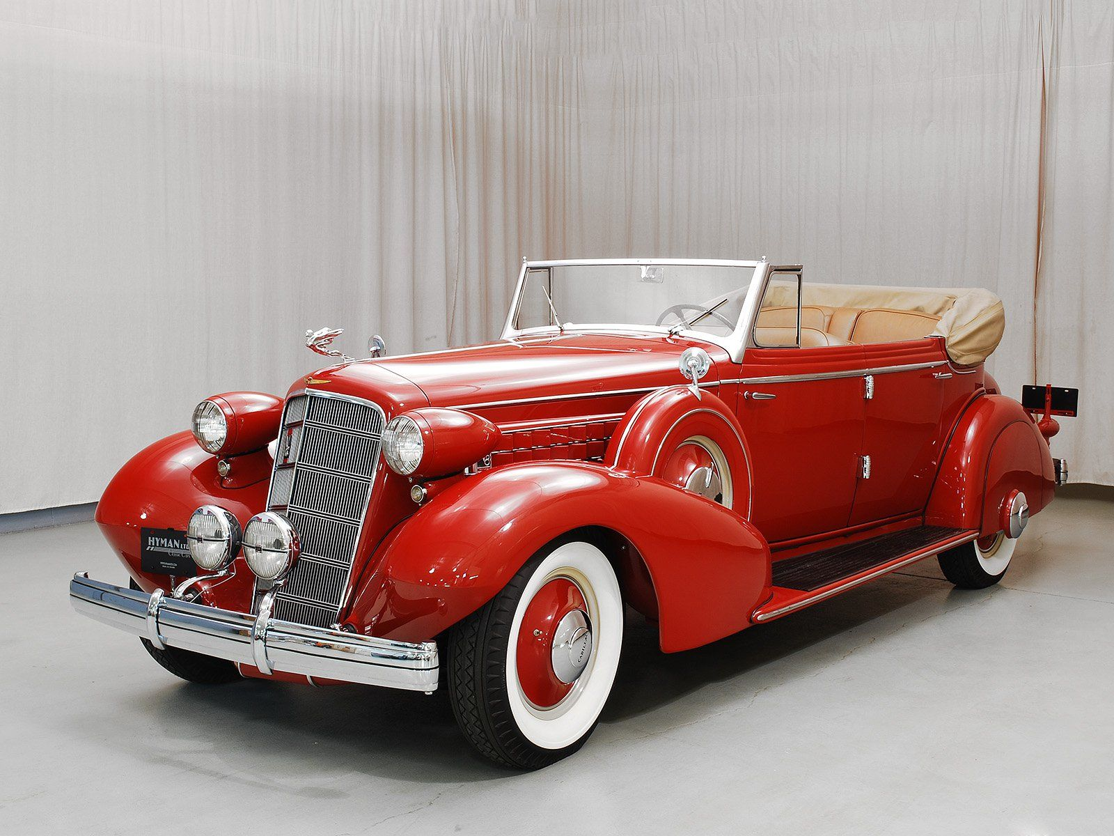 1935 Cadillac 355-D Convertible Sedan - Hyman Ltd. Classic Cars ...