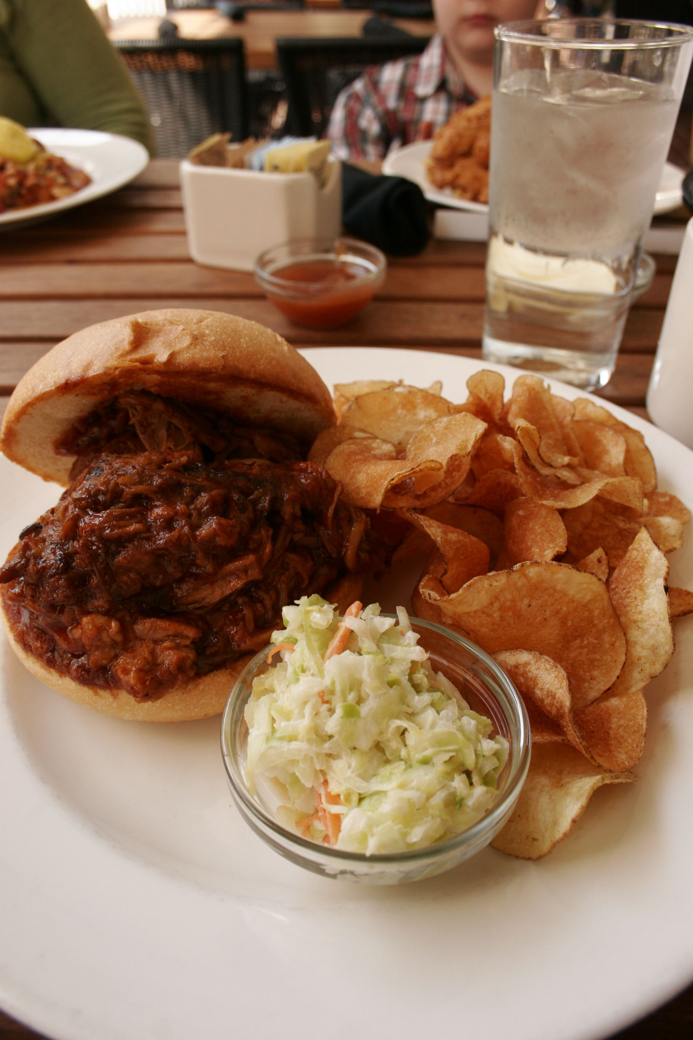 Bbq Pork Sandwich South City Kitchen Southern Recipes Food