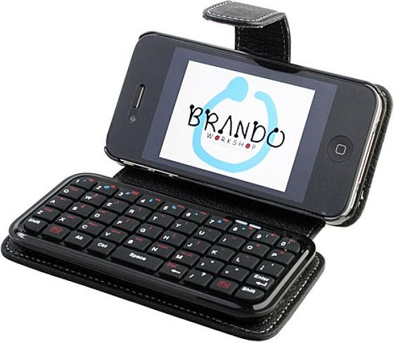 bluetooth keyboard for iphone iphone 4 leather with bluetooth keyboard bluetooth 13691