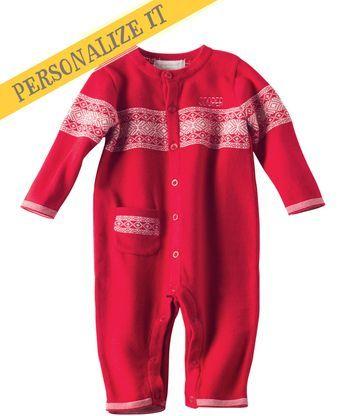 Free personalization until 11/2/14! Baby Boy Alpine Fair Isle ...