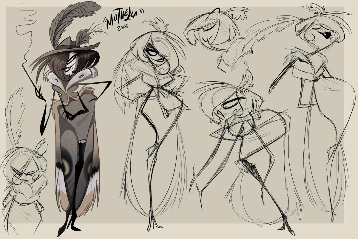 Animation Character Design Portfolio : Vivienne medrano s portfolio drawing stuffs