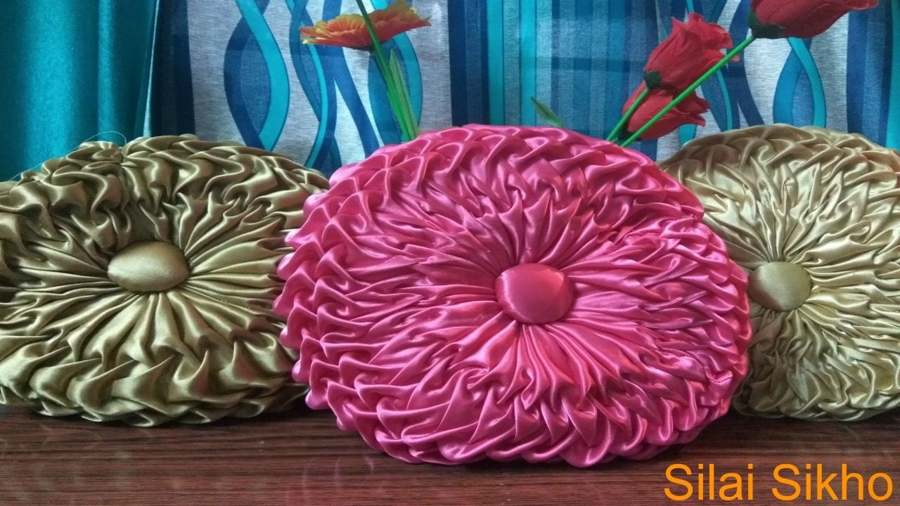 How to make smocking coushion pillow cushion cover pinterest
