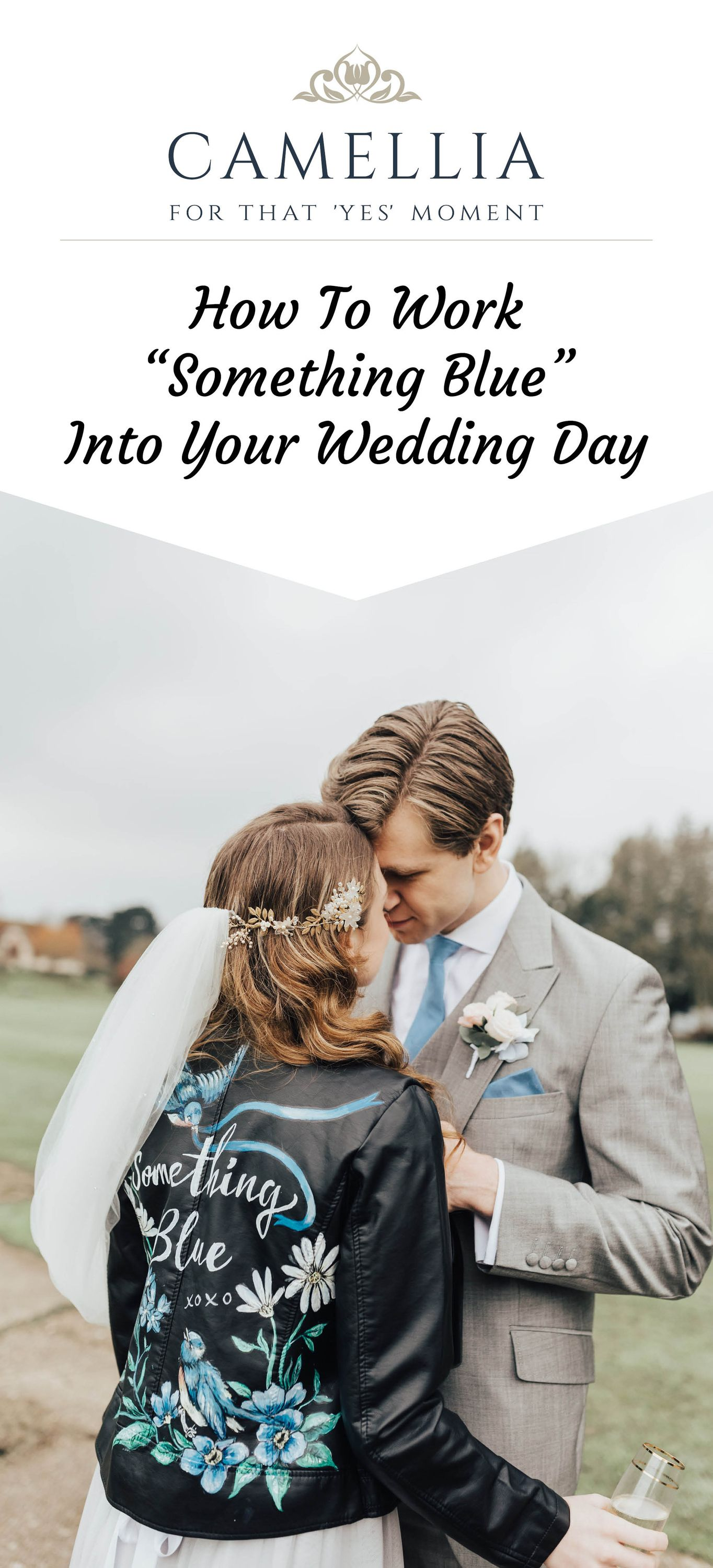"""How To Work """"Something Blue"""" Into Your Wedding Day"""