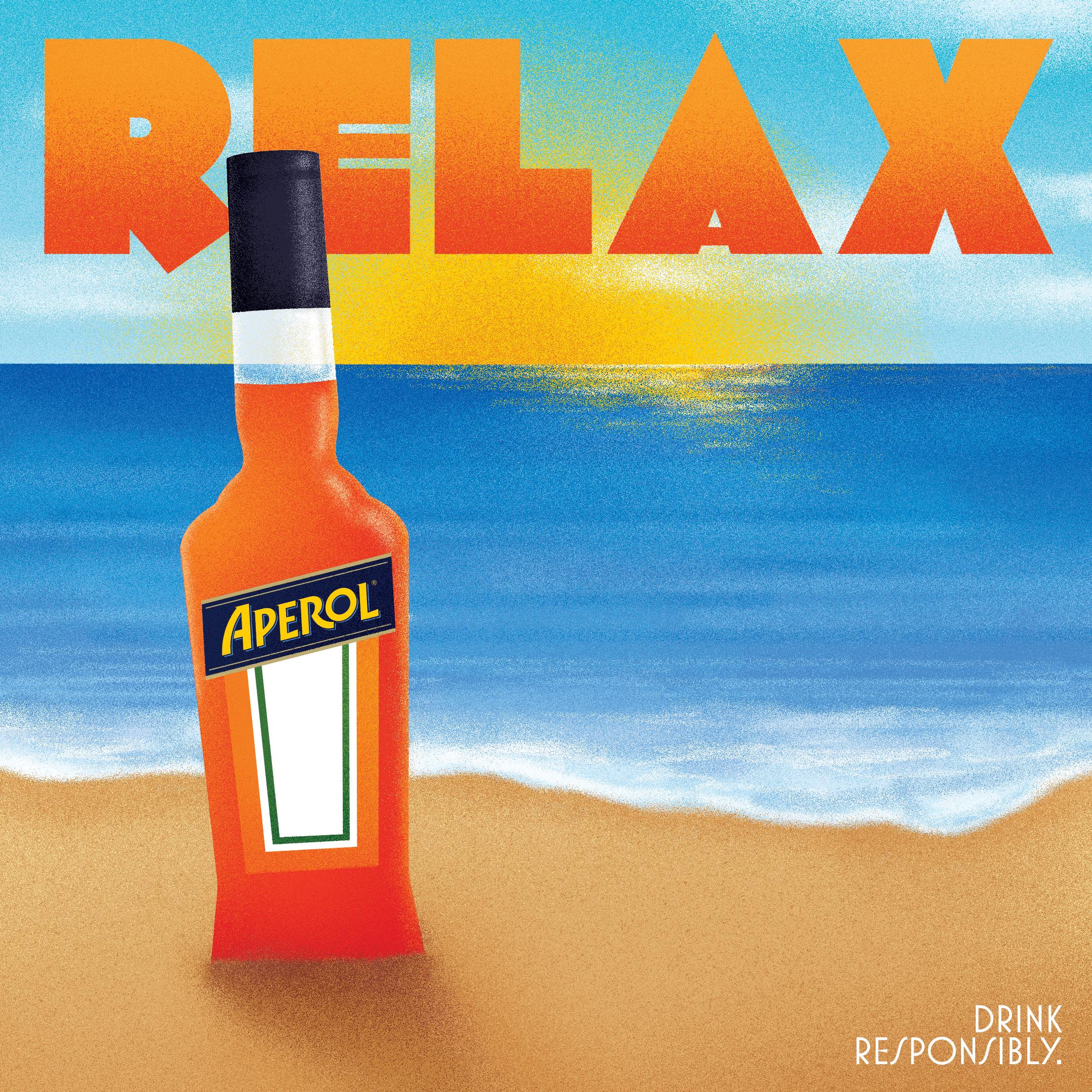 APEROL APERITIVO POSTER ALCOHOL DRINK Art Print Poster