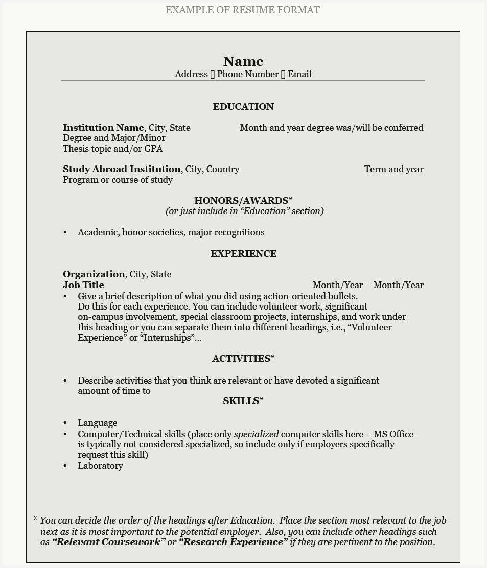 43 Best Of Resume for Office Jobs Pics in 2020 Resume