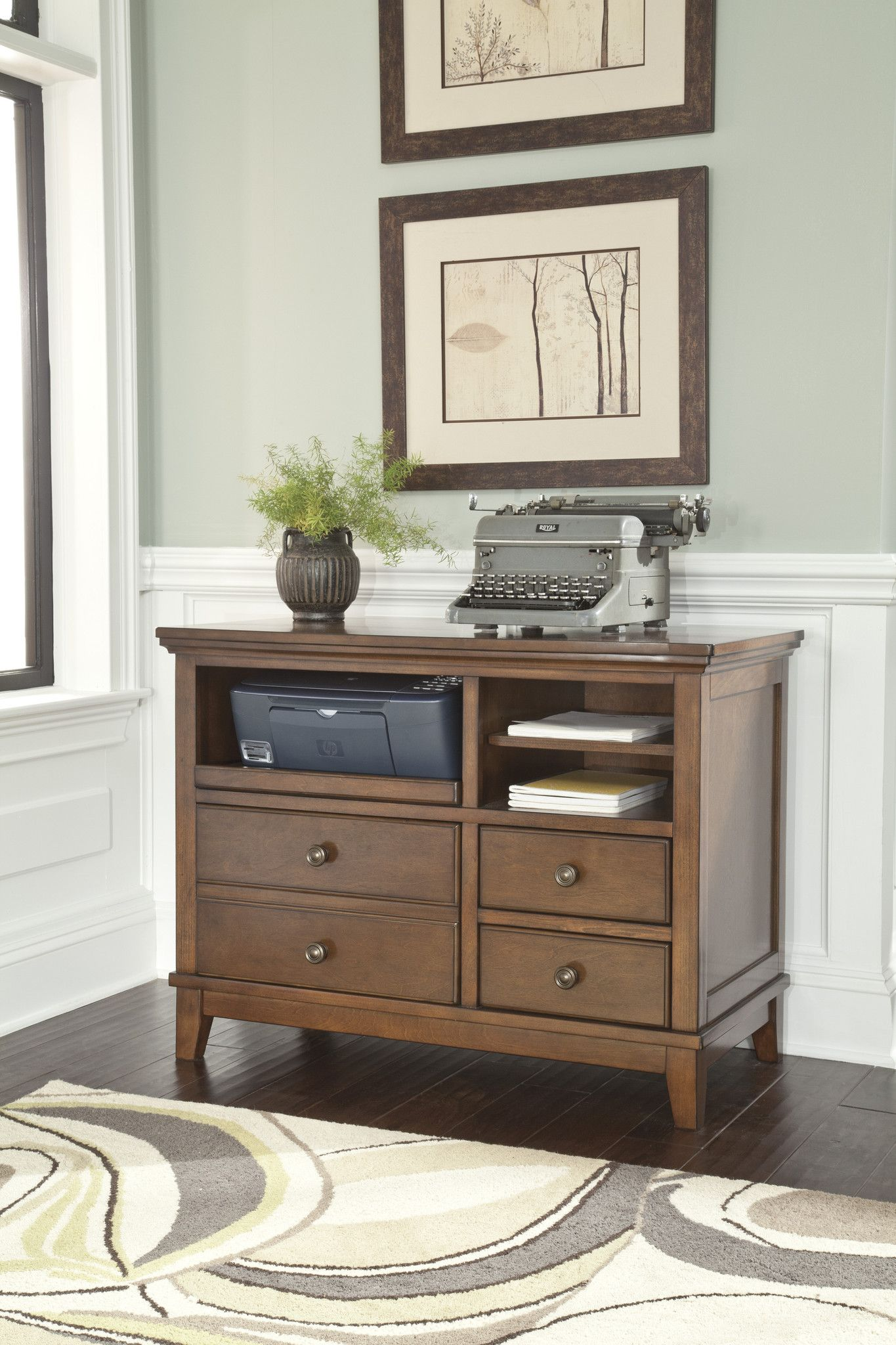 Burkesville Home Office Cabinet