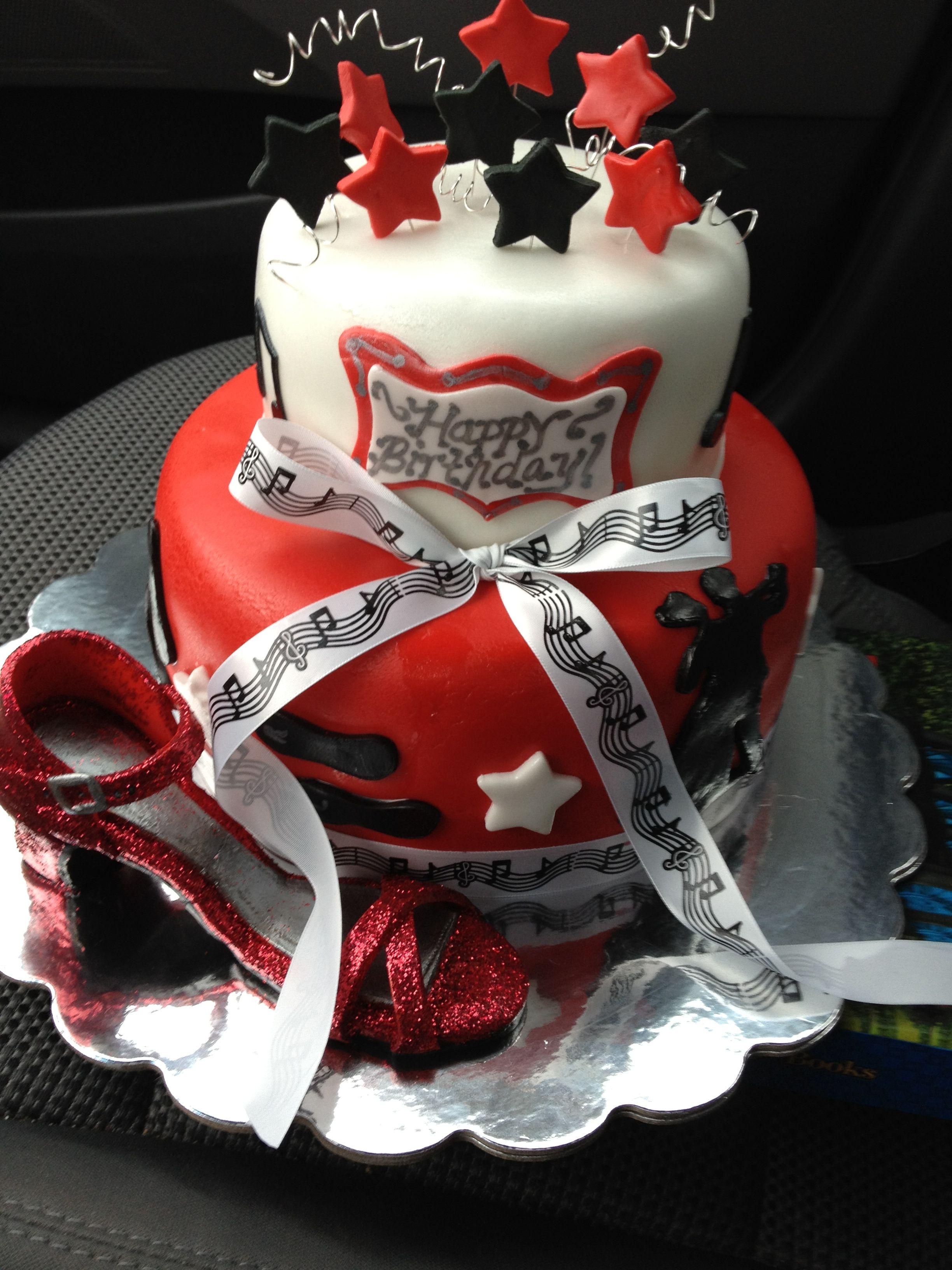 Groovy Ballroom Dance Shoe Birthday Cake Cake Birthday Cake Cupcake Birthday Cards Printable Benkemecafe Filternl