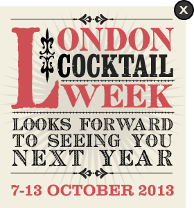 London Cocktail Week | October 5-11th 2015