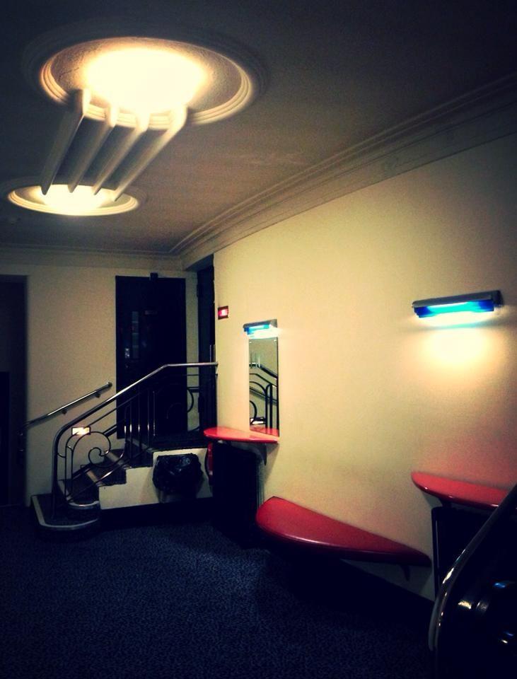 Interior of the Rio Cinema, Dalston, East London.