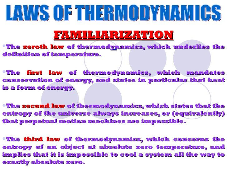 Image result for first and second  laws of thermodynamics poster