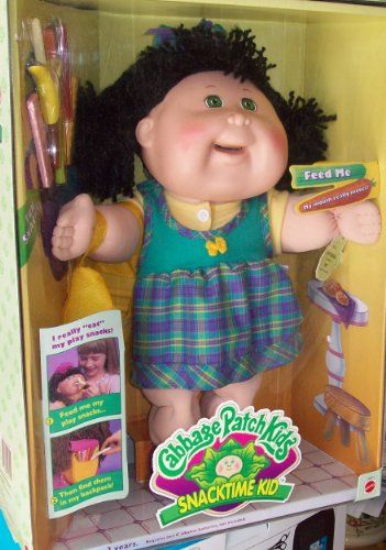 Snacktime Cabbage Patch Kid This One Only Had To Be Recalled Because Some Pesky Children