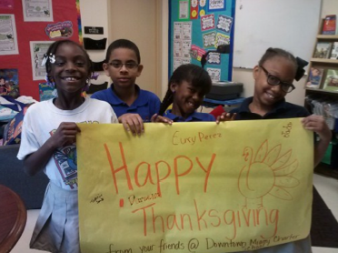 In Honor Of Homeless Awareness Month And The Thanksgiving Holiday Downtown Miami Charter School Service Club Mem Charter School School Services Service Club