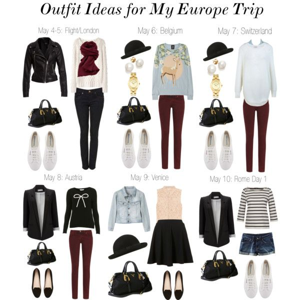 Outfit Ideas for Europe (New), created by claudinemedina on Polyvore
