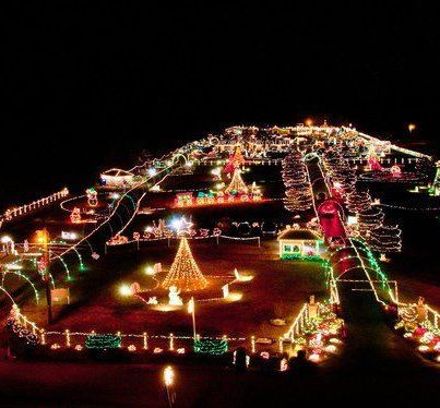 What S The Biggest Light Show In The South Check Out Chad Barnard S Place Off Old Laguardo R Holiday Lights Display Christmas Display Christmas Light Displays