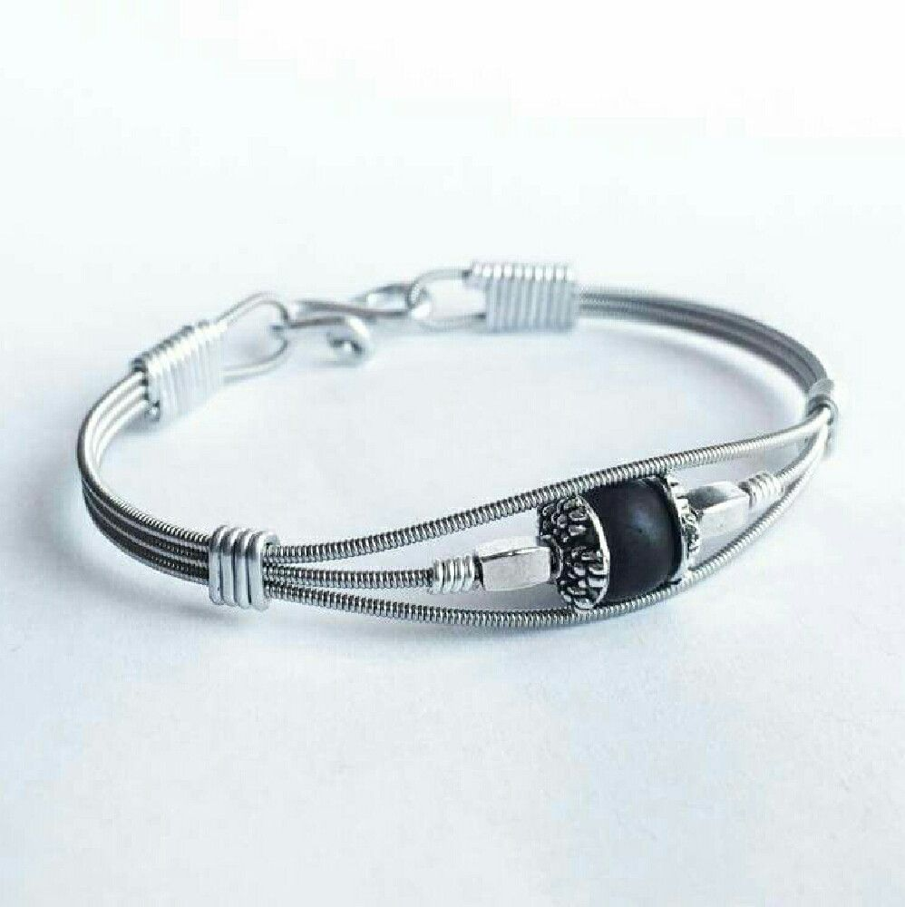 Recycled guitar string jewelry - Hey Check Out What I M Selling With Sello Recycled Guitar String Bracelet