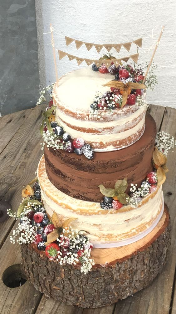 Amazing Rustic Wedding Cakes