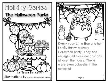 Halloween Reader: Holiday Series- The Halloween Party