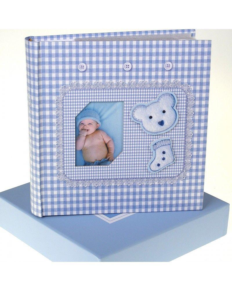 Niebieski Album Na Zdjecia Dzieciece 10x15 Na 200 Zdjec W Pudelku