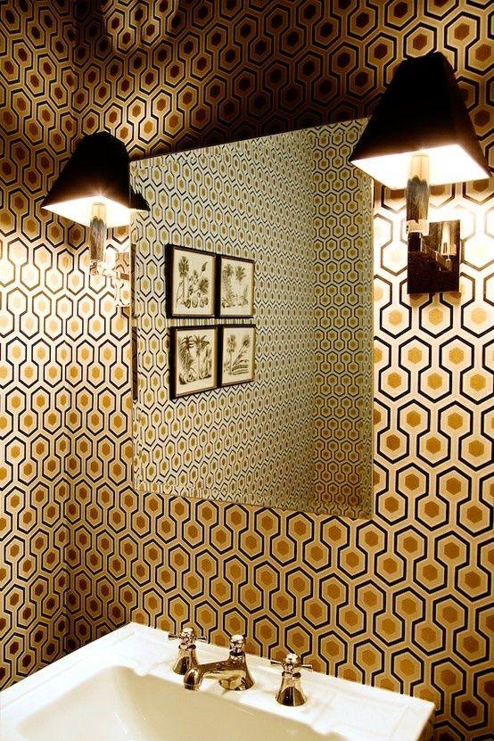 tapete hicks hexagon von cole son britisch englisch design tapezieren. Black Bedroom Furniture Sets. Home Design Ideas