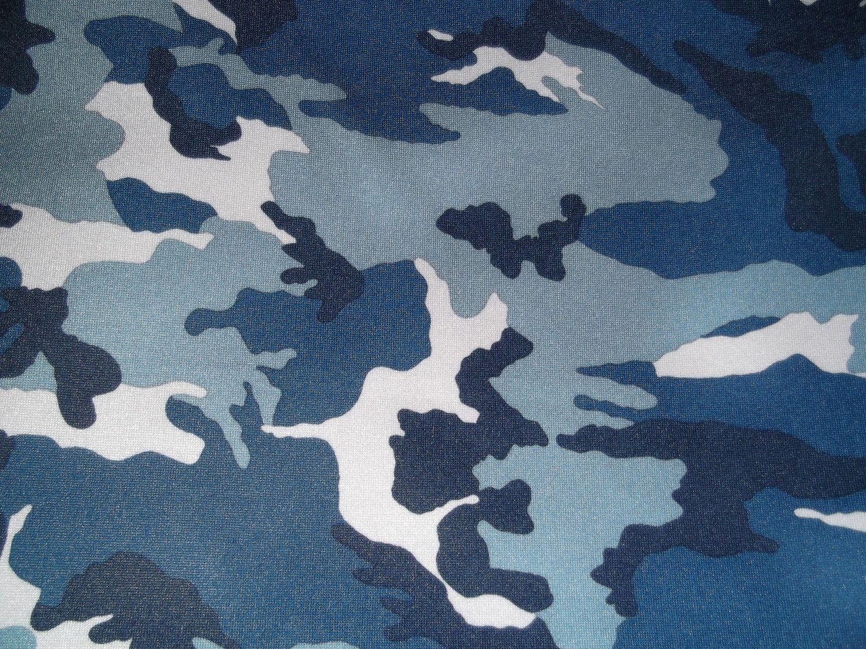 Blue Camo Pattern Sky Camouflage Patern Fabric Patterns