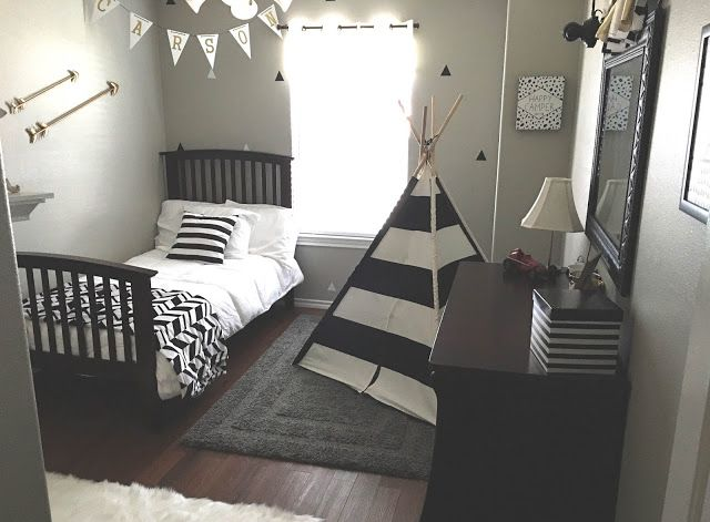 Gray Black White Gold Boy Room Toddler Rooms Boy Room Big Boy Room